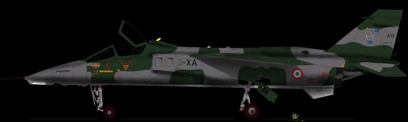 sepecat jaguar A (1/48 de kitty hawk) fini- rajout de la mise en situation Jaguar15
