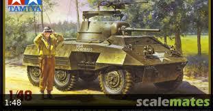 "Us M8 light armored car ""Greyhound"" 48° de tamiya Tzolzo14"