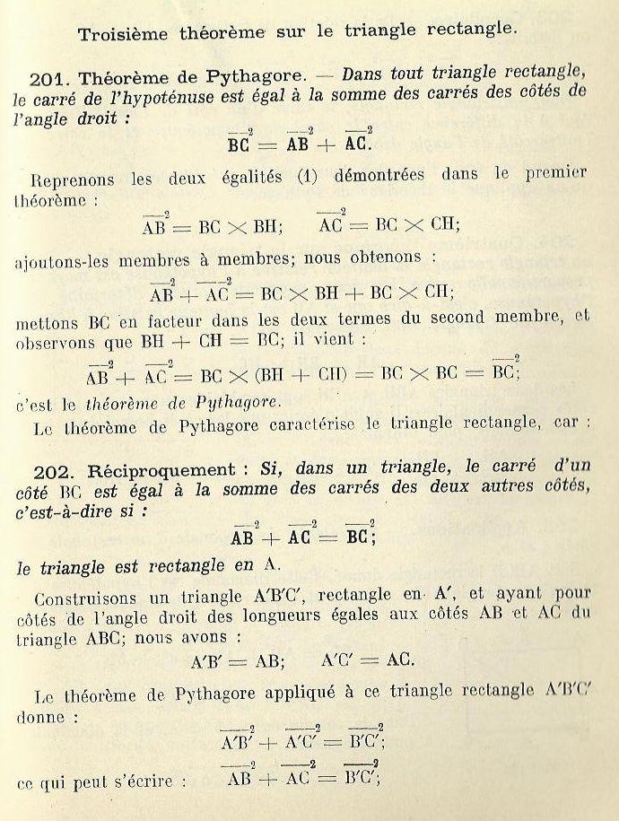 Théorème de Pythagore : comment l'aborder en classe ? Pythag10