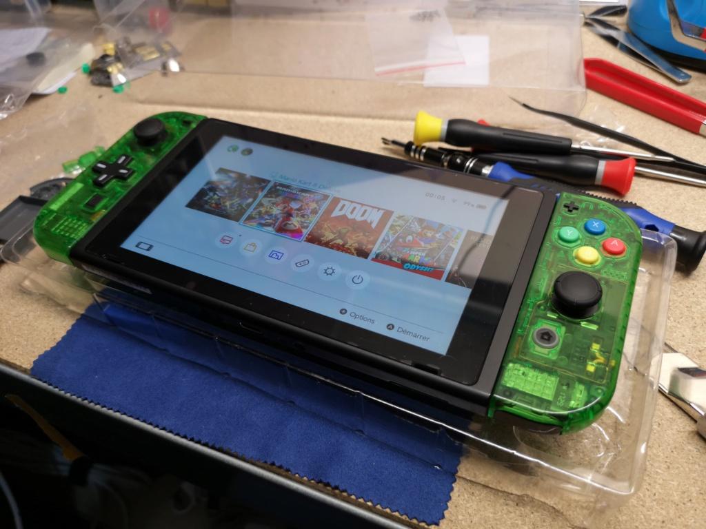 [Switch] [TEST] D-pad et coque transparente ! Img_2020