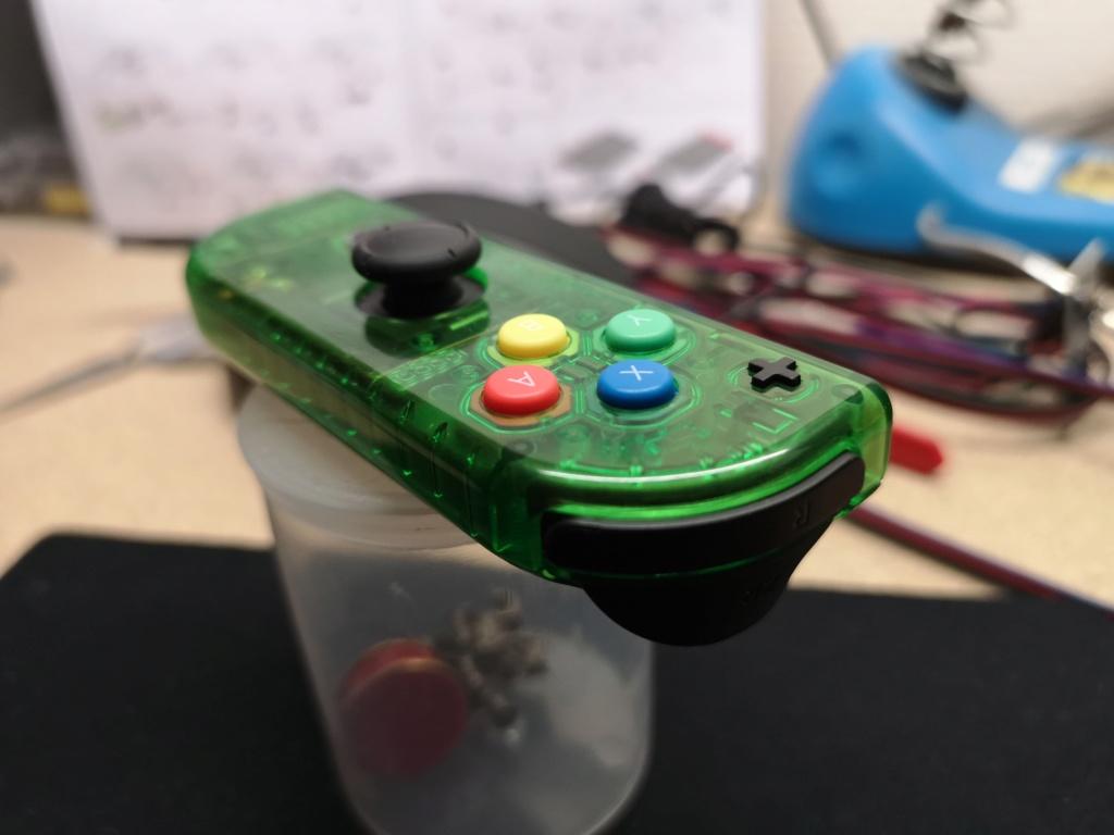 [Switch] [TEST] D-pad et coque transparente ! Img_2032