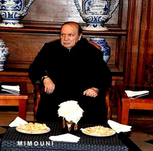 Mimouni : Bouteflika vote sur un fauteuil roulant ! a-t-il besoin de ses jambes pour gerer l'Algérie? Mimoun14