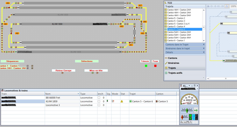 TrainController 8: Boutons trajet automatique/manuel Trajet10