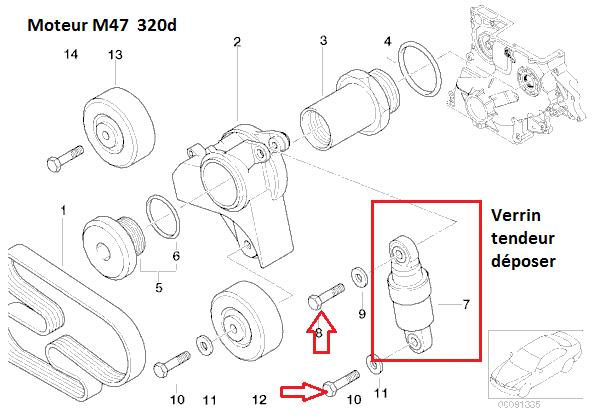 [ bmw e46 m47 320D an 1999 ] Remplacement thermostat d'eau (résolu) 11_m4712
