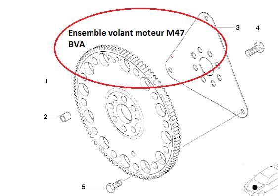 [ BMW E46 320D M47 an 2001 ] Casse vilebrequin 11_vol10