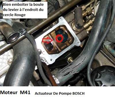 [ BMW E36 318 tds compact an 1997 ] ne demarre plus après changement actuateur de pompe a injection 13_act11