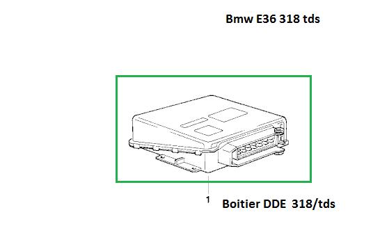 [ BMW E36 318 tds compact an 1997 ] ne demarre plus après changement actuateur de pompe a injection 13_boi10