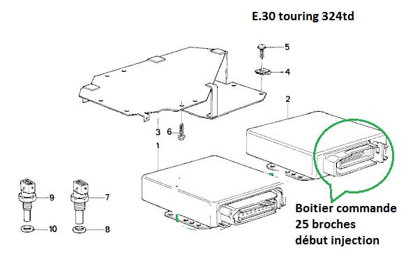[ BMW E30 324 TD touring an 1988 ] Problème compte tours / économètre (résolu) 13_e_310