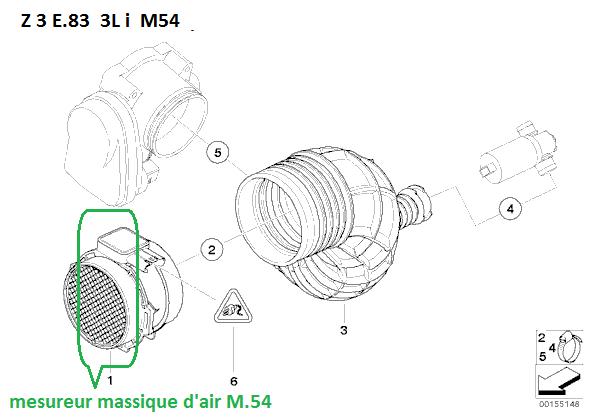 [ BMW X3 3.0i M54 an 2004 ] accoups lors de forte accélération (résolu) 13_m5411