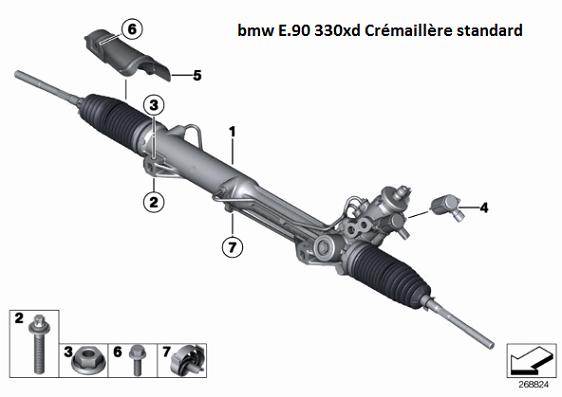 [ BMW E90 330 XD an 2006 ] Saccades accoups direction assistée (résolu) 32_e_910