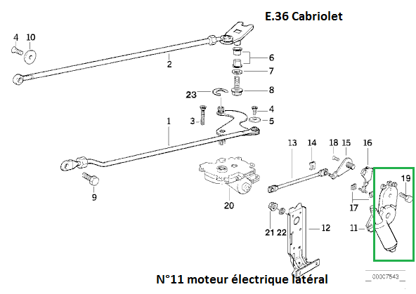 bmw e36 cabriolet m52 an 1996 claquement moteur capote electrique. Black Bedroom Furniture Sets. Home Design Ideas