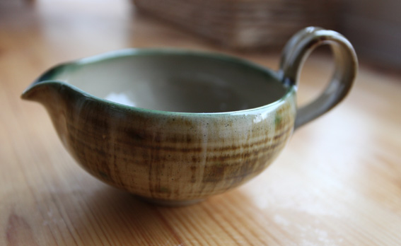 Yelland Pottery, Michael Leach Jug1a13
