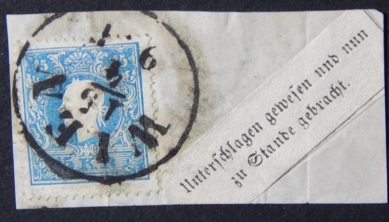 Die Freimarkenausgabe 1858 Type I und II - Seite 2 Kalab11