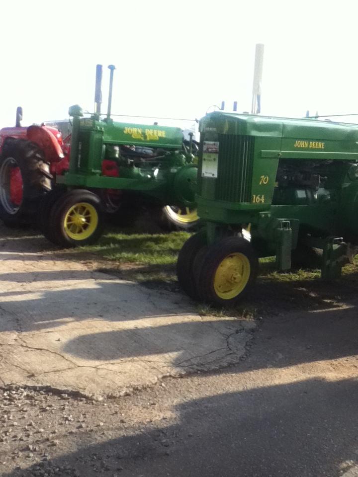 2014 tractor show  Bryans20