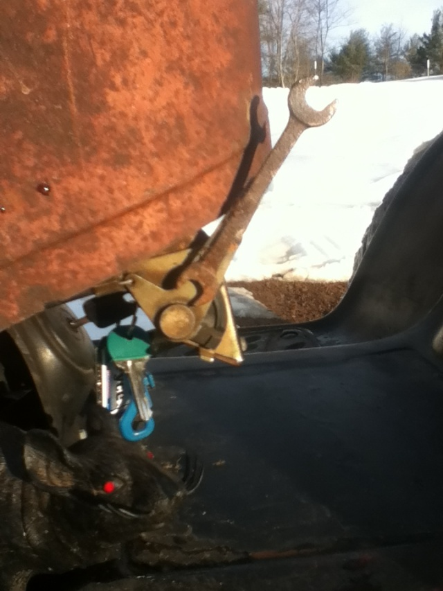 hot rod troybelt with david bradly hood  Chcj3112