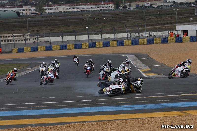 [Pit Laners en course] Julian Loison, Team JFC (Moto3 FSBK) Alerio12