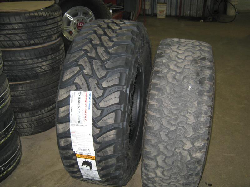 Photos de l'installation de mes nouveaux pneus Toyo M/T open country 37 X 13.50 R17 Toyo_t25