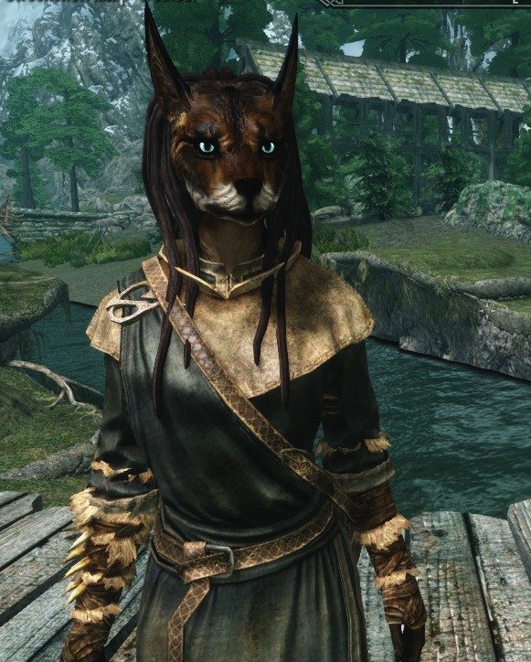 Skyrim Modded Vaalsark (wolf-like) Race (Warning Image Heavy!!!) Untitl12