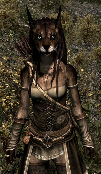 Skyrim Modded Vaalsark (wolf-like) Race (Warning Image Heavy!!!) Untitl13