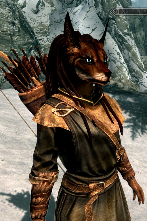 Skyrim Modded Vaalsark (wolf-like) Race (Warning Image Heavy!!!) Untitl22