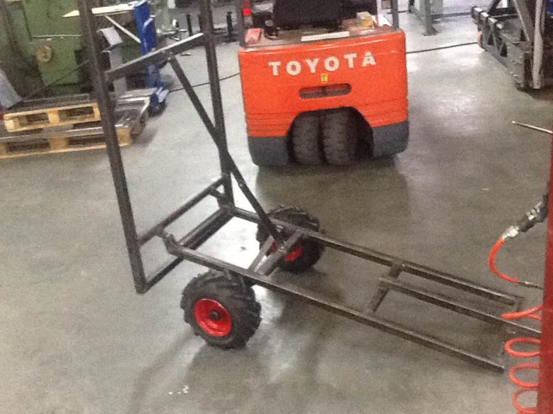 All terrain lawn tractor trailer build - Page 2 Foto910