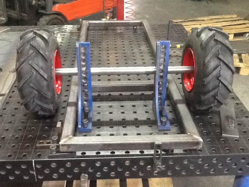 All terrain lawn tractor trailer build Photo210