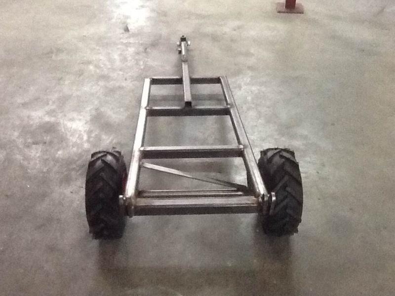 All terrain lawn tractor trailer build Photo711