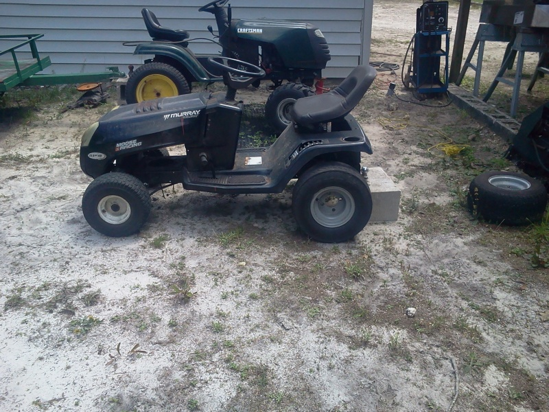 Murray Select Racing Mower Project 2014-015