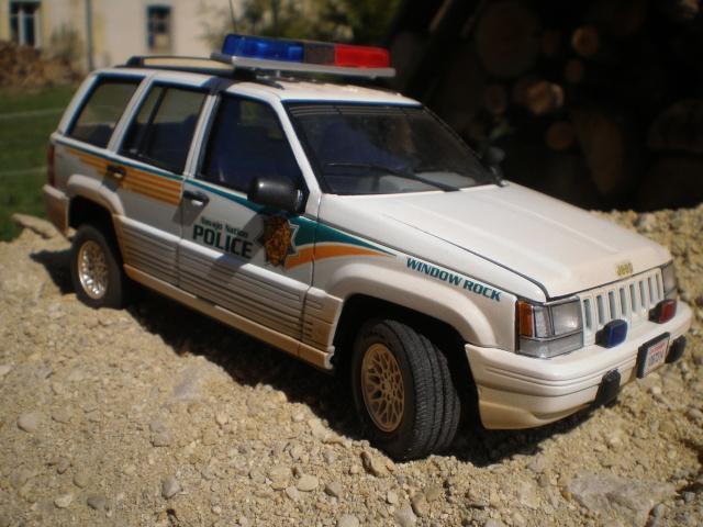 jeep cherooke NAVAJO NATION POLICE P1011517