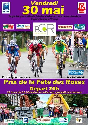Prix de la Fête des Roses - Brie Comte Robert le vendredi 30 mai Affich14