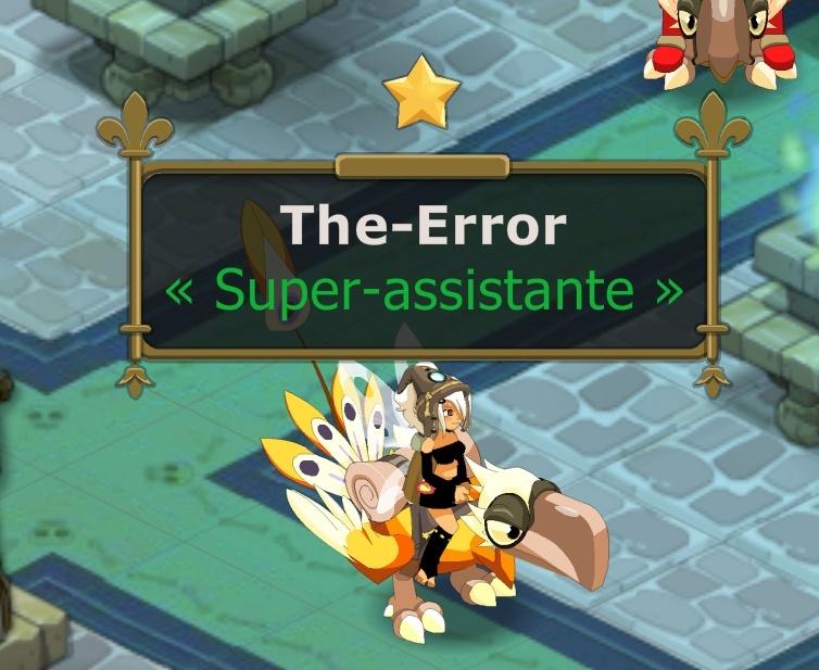 Recrutement The-Error  Eni12