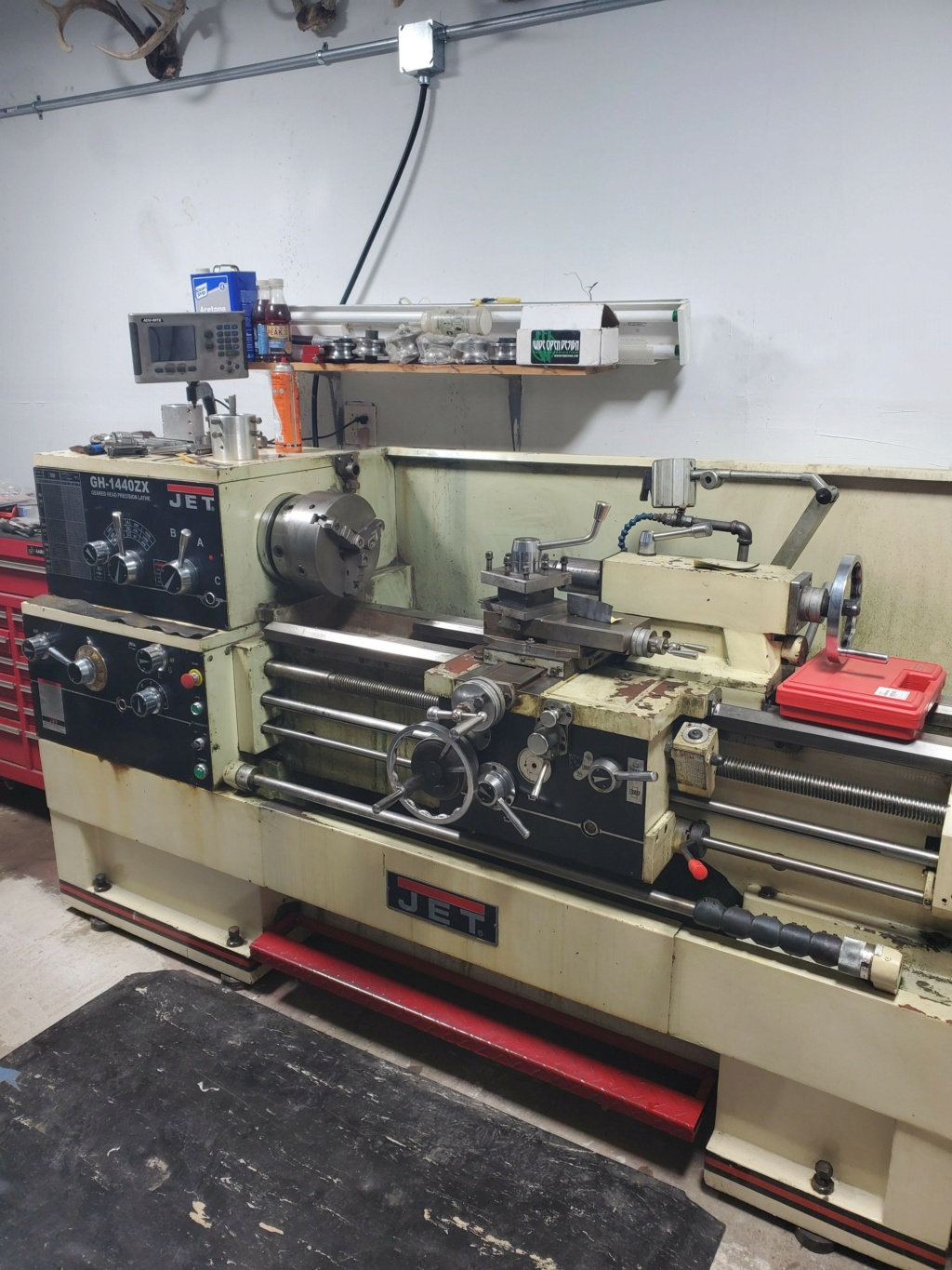 """Looking for a """"larger"""" thru Spindle Bore Lathe for barrel work Jet10"""