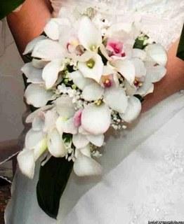 Bouquet Sposa Calle E Orchidee.La Galleria Dei Nostri Bouquet