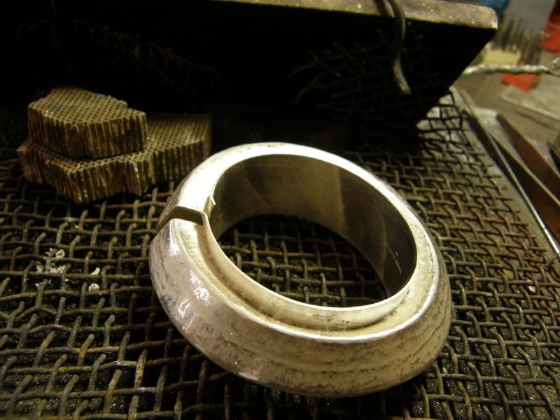 Bracelet argent retreint P5250010