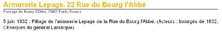 Monsieur PRADIER 1830, 22 rue Bourg l'Abbé Paris Bourg_11