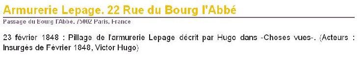 Monsieur PRADIER 1830, 22 rue Bourg l'Abbé Paris Bourg_13