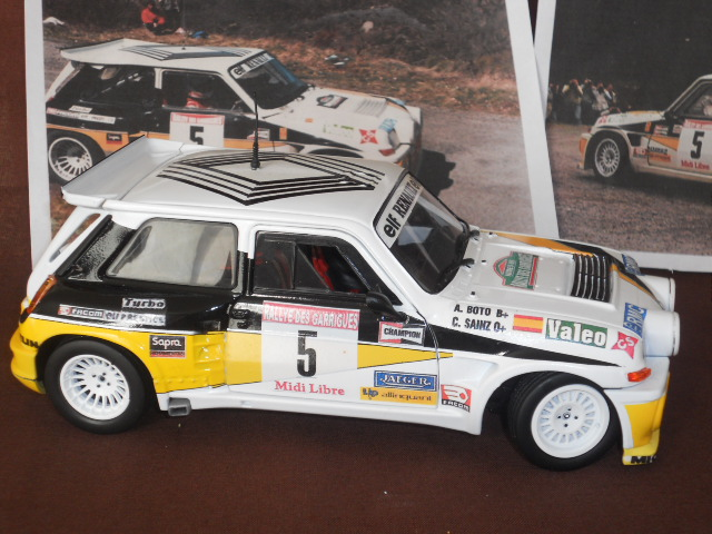Renault 5 Maxi Turbo Rallye des Guarrigues 1986 Dscn1113