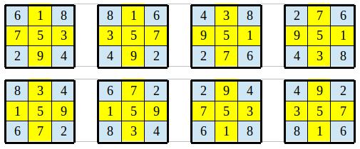 Le carré magique Luo Shu Luo_310