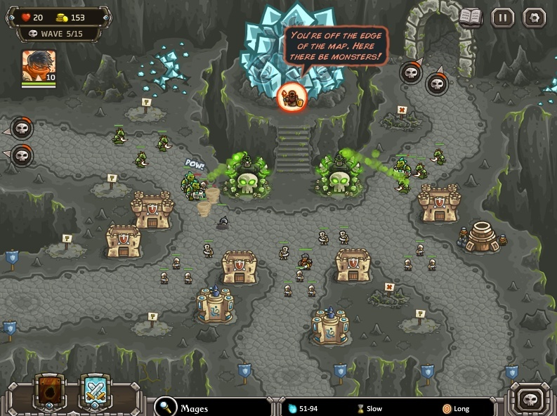 KINGDOM RUSH: FRONTIERS Screen13