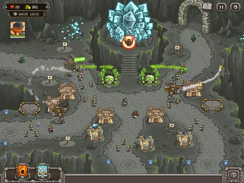 KINGDOM RUSH: FRONTIERS Screen14