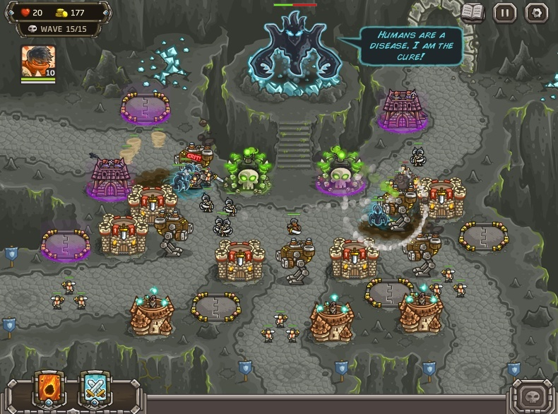 KINGDOM RUSH: FRONTIERS Screen18