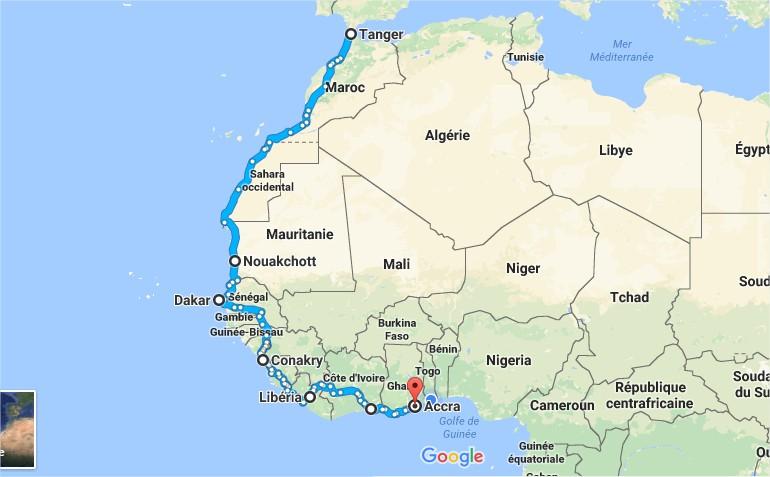 XTZ 660 au Togo Voyage11