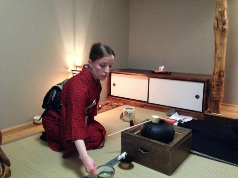 Tea ceremony schools and kitsuke for tea! Hatsu810