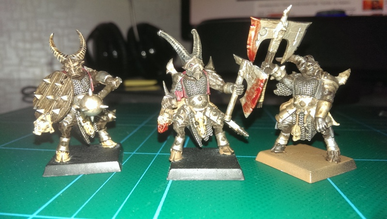 beastmen - My new beastmen raiders!  Imag0213