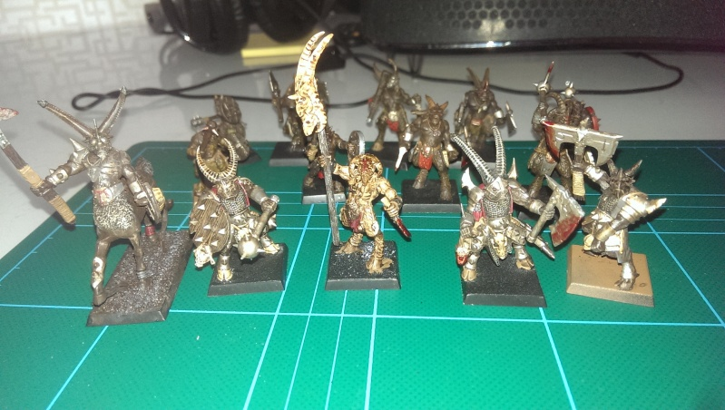 beastmen - My new beastmen raiders!  Imag0310
