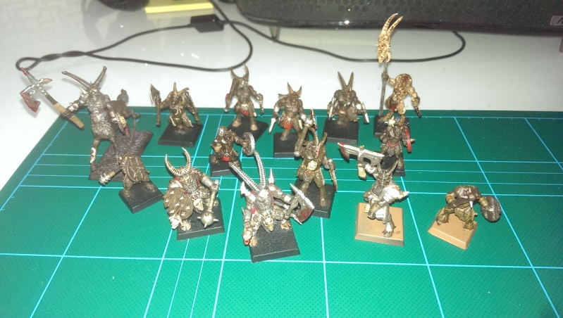 beastmen - My new beastmen raiders!  Imag0311
