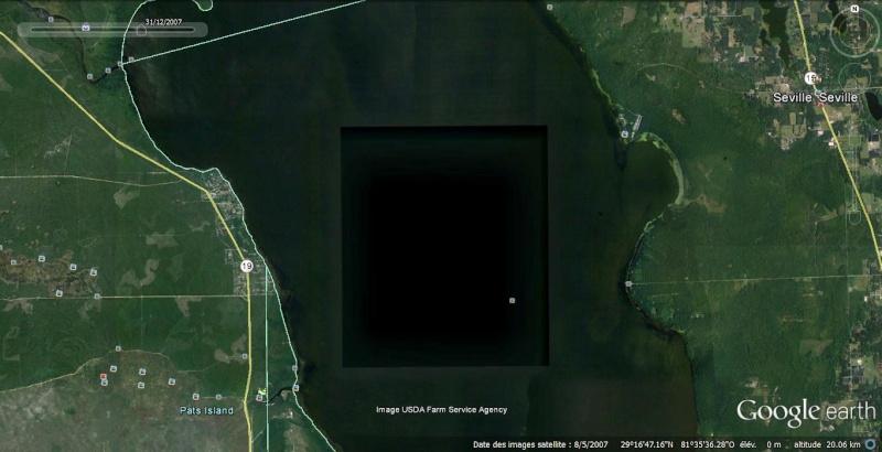 Bassin de 6km sur 5 dans un lac de Floride Bassin10