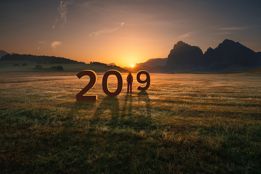 have new year 2019 Christ10