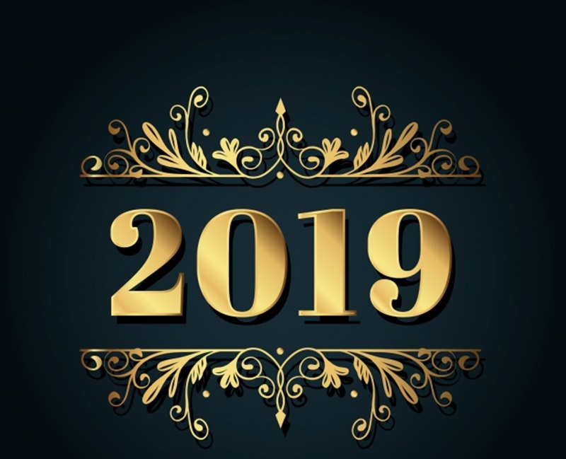 have new year 2019 Golden10