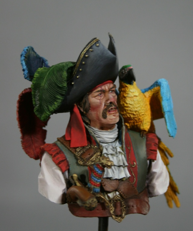 "Capitaine  de chez ""Alexandros"", buste. Img_7329"